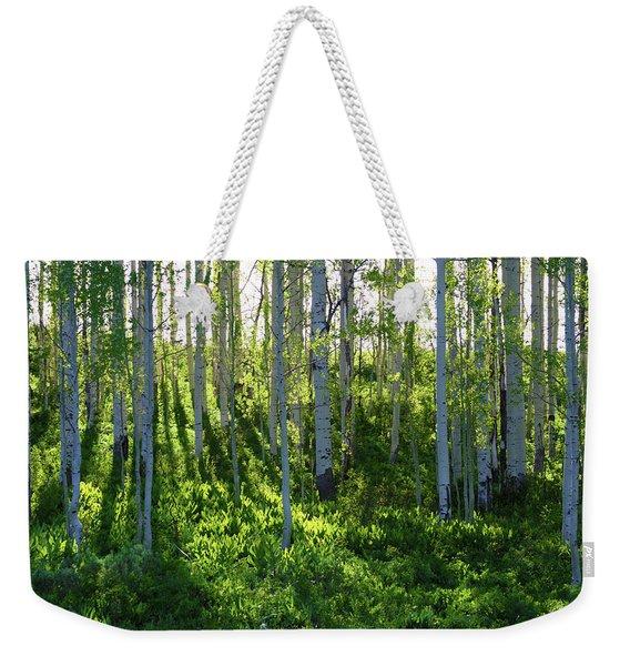 Aspen Morning 1 Weekender Tote Bag