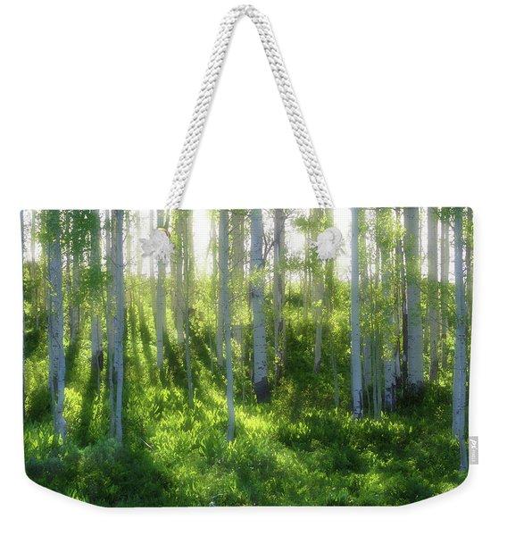 Aspen Morning 3 Weekender Tote Bag