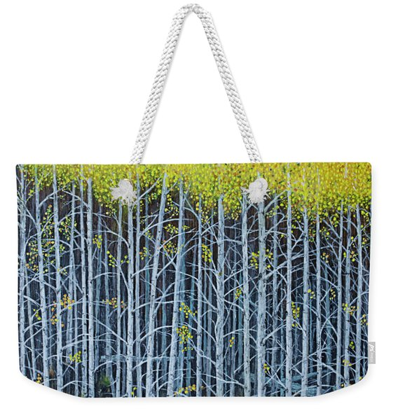Aspen Stand The Painting Weekender Tote Bag
