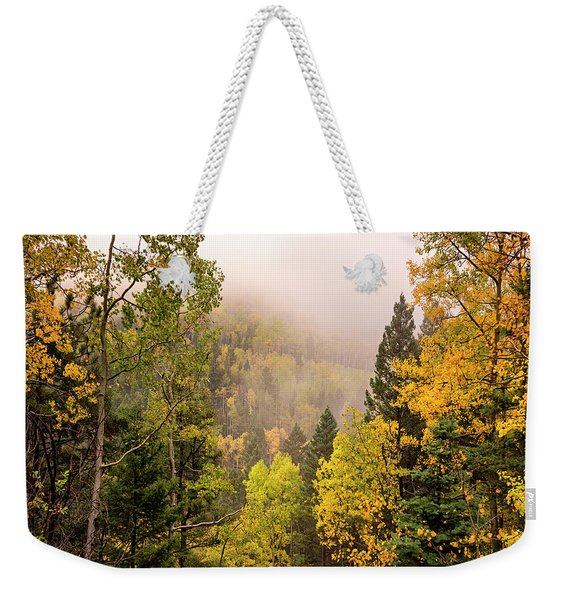 Aspens In Autumn 9 - Santa Fe National Forest New Mexico Weekender Tote Bag