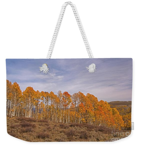 Aspens In Utah Weekender Tote Bag