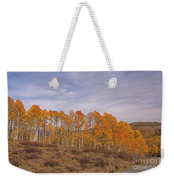 Aspens In Utah Weekender Tote Bag