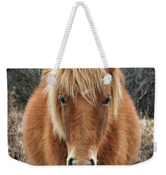 Assateague Island Horse Miekes Noelani Weekender Tote Bag