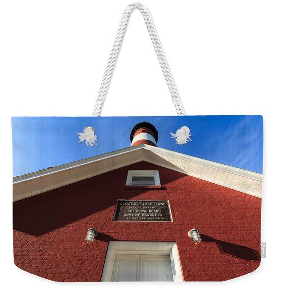 Assateague Light Weekender Tote Bag