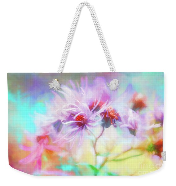 Asters Gone Wild Weekender Tote Bag
