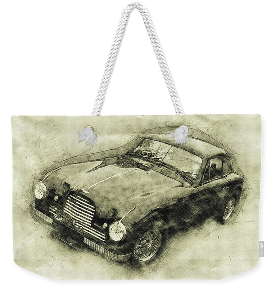 Aston Martin Db2 Gt Zagato - 1950 - Automotive Art - Car Posters Weekender Tote Bag