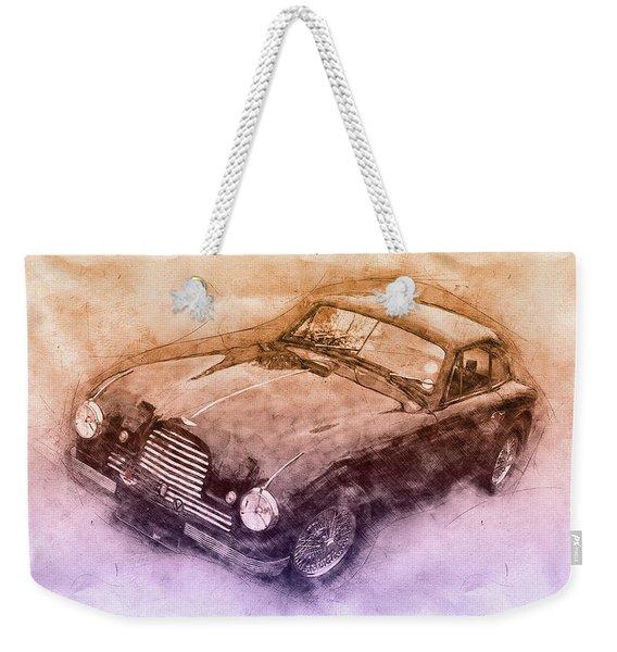 Aston Martin Db2 Gt Zagato 3 - 1950 - Automotive Art - Car Posters Weekender Tote Bag