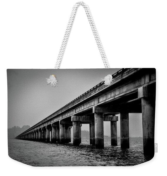 Astoria Bridge Weekender Tote Bag