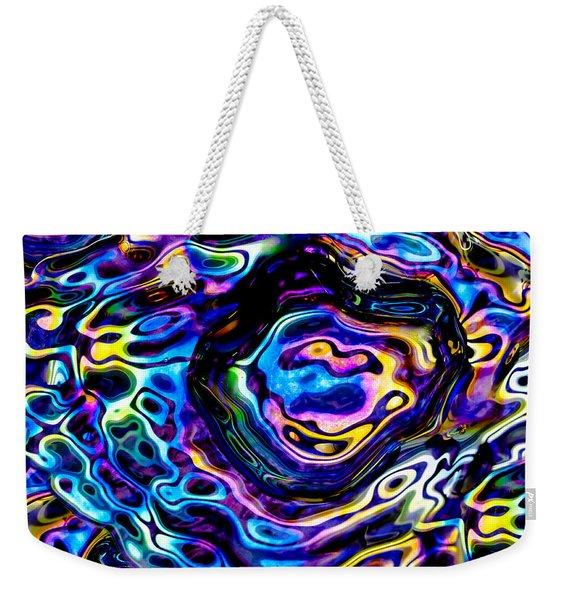 Astral Platter Weekender Tote Bag