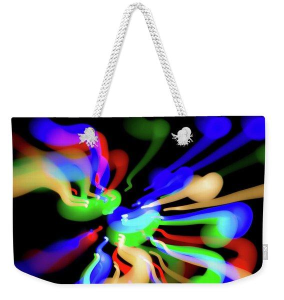 Astral Travel Weekender Tote Bag