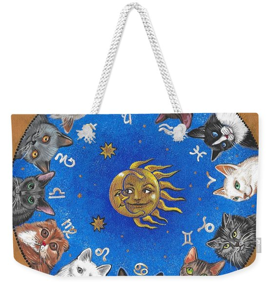 Astrological Cats Weekender Tote Bag