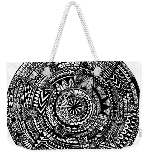 Asymmetry Weekender Tote Bag
