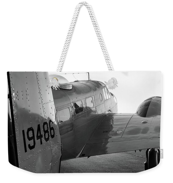 At-11 In Black And White - 2017 Christopher Buff, Www.aviationbuff.com Weekender Tote Bag