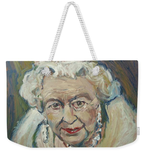 At Age Still Reigning Weekender Tote Bag