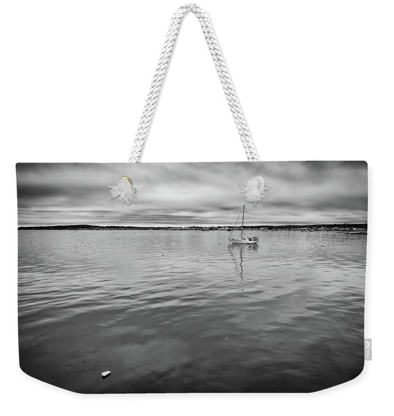 At Anchor In The Harbor Weekender Tote Bag