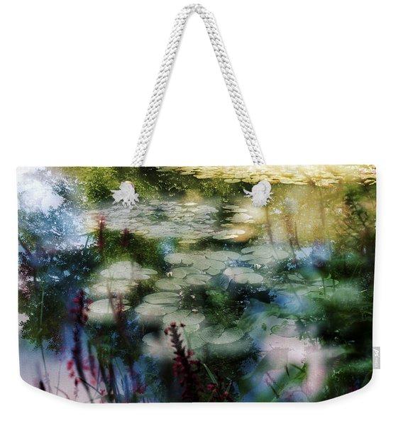 At Claude Monet's Water Garden 2 Weekender Tote Bag