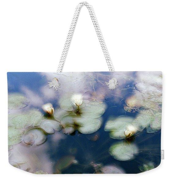 At Claude Monet's Water Garden 4 Weekender Tote Bag