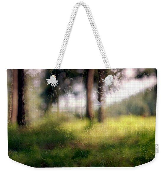 At Menashe Forest Weekender Tote Bag