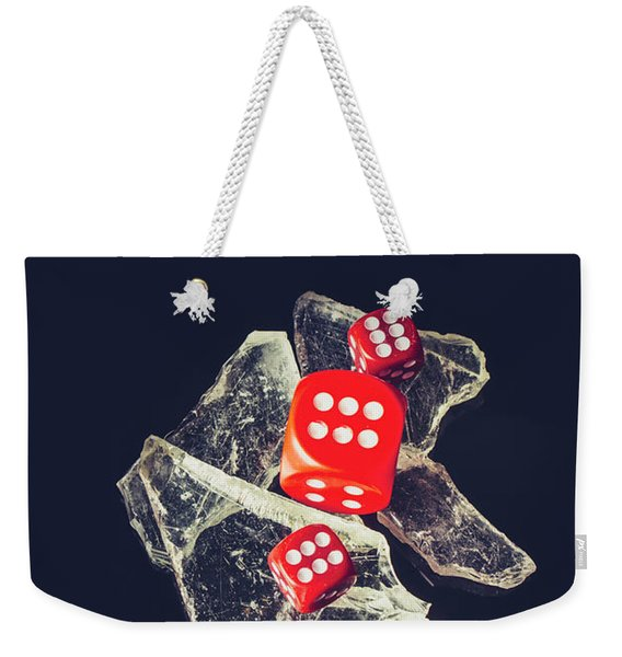 At Odds Weekender Tote Bag