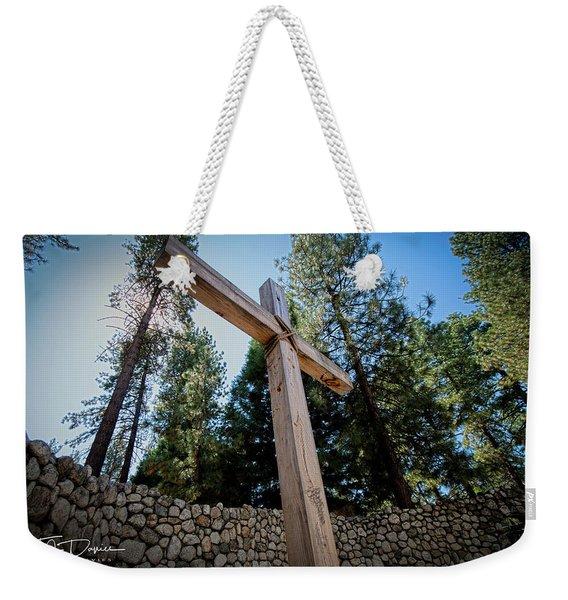 At The Cross Weekender Tote Bag