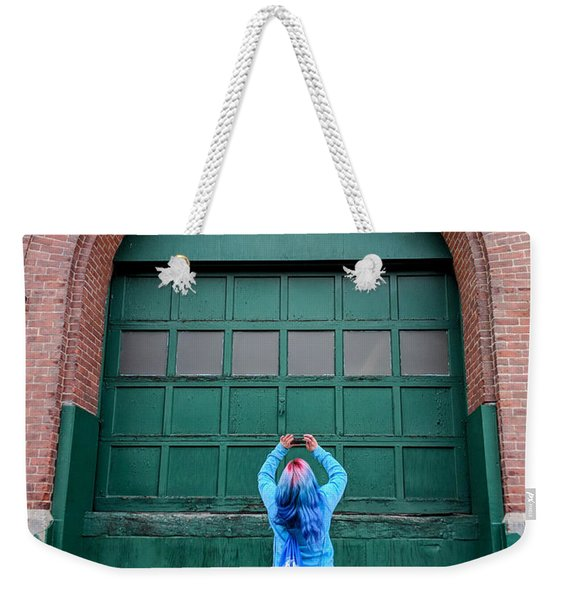 At The Door Weekender Tote Bag
