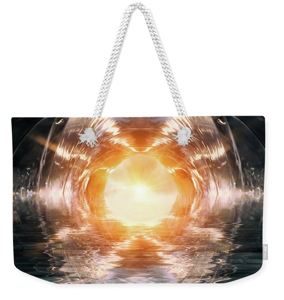 At The End Of The Tunnel Weekender Tote Bag