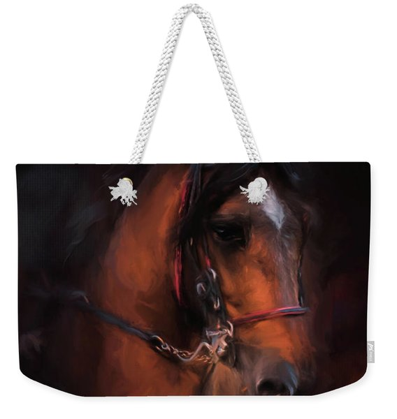 At The Horse Show 1 Weekender Tote Bag