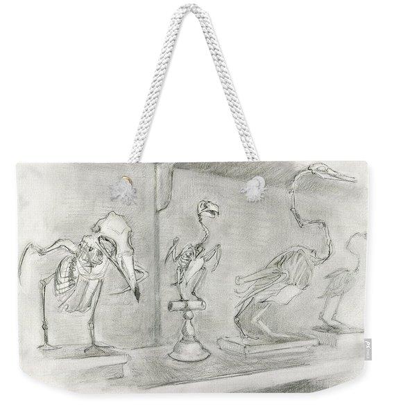 Bird Skeletons Weekender Tote Bag