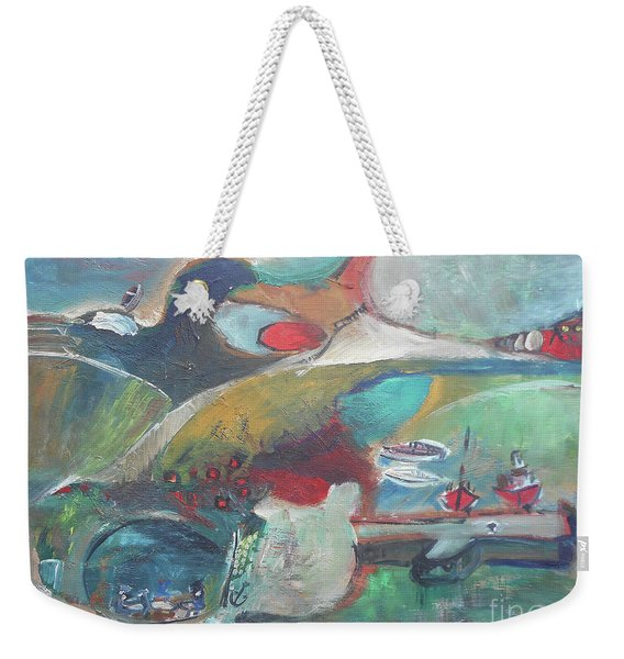 At The Sea Shore Weekender Tote Bag