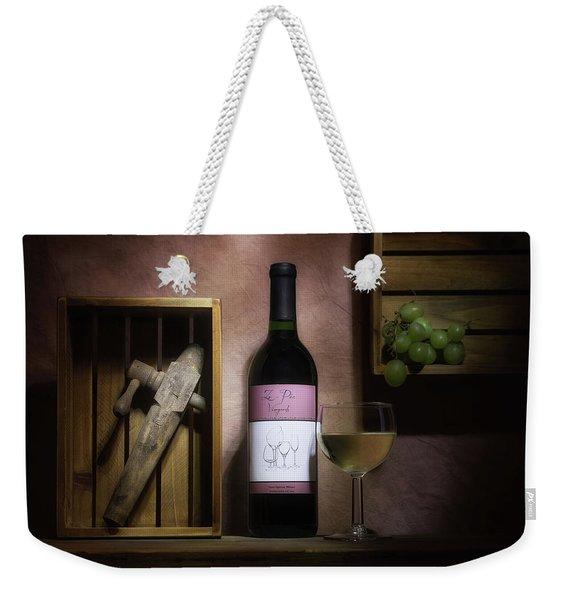 At The Vineyard Weekender Tote Bag