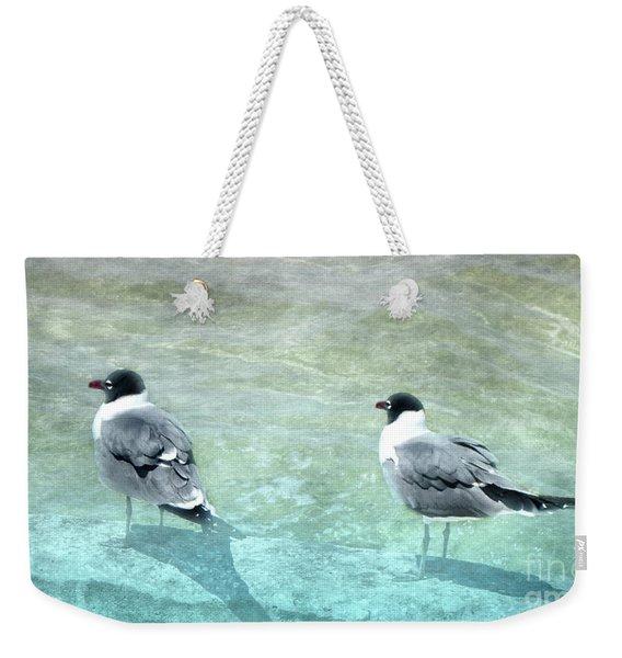 At The Waters Edge Weekender Tote Bag
