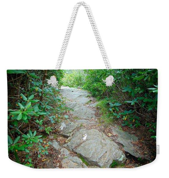 At-trail Blazes Weekender Tote Bag