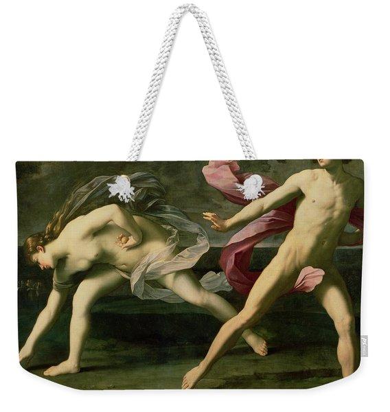 Atalanta And Hippomenes Weekender Tote Bag