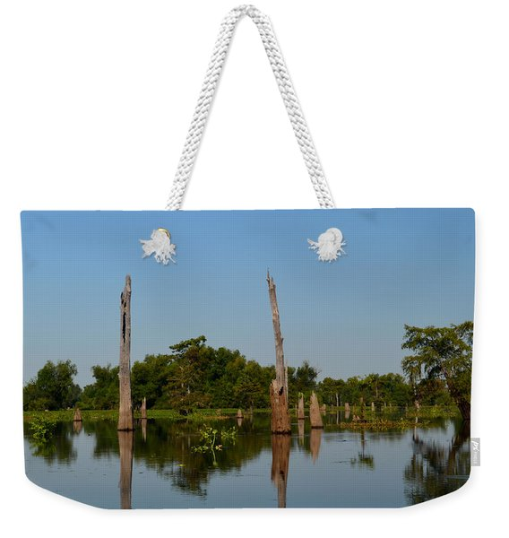 Atchafalaya Basin 18 Weekender Tote Bag