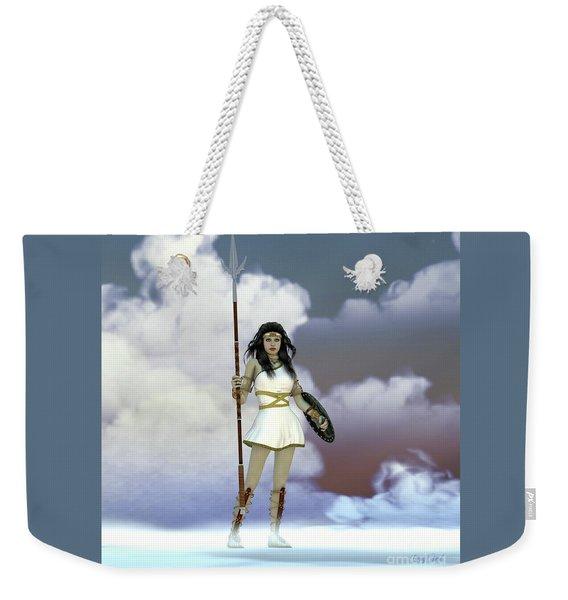 Athena Greek Goddess Weekender Tote Bag