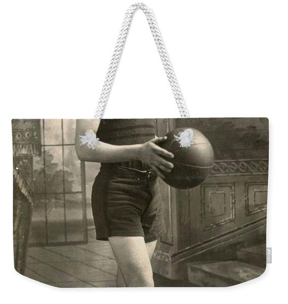 Athletic Boy Weekender Tote Bag