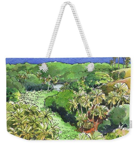 Atiu Lake View Weekender Tote Bag