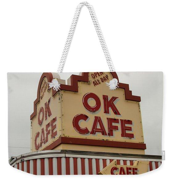 Atlanta Classic Ok Cafe Atlanta Restaurant Art Weekender Tote Bag