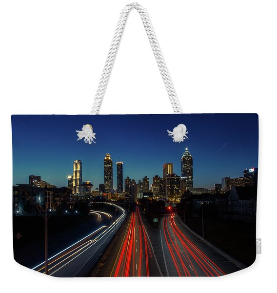 Atlanta Skyline 1 Weekender Tote Bag