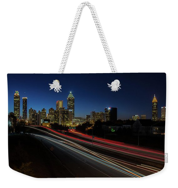 Atlanta Skyline 2 Weekender Tote Bag