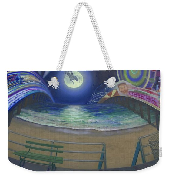 Atlantic City Time Warp Weekender Tote Bag