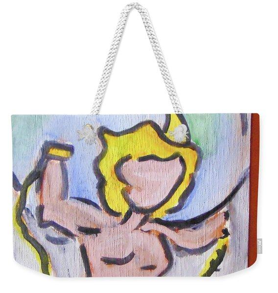 Atlas Weekender Tote Bag