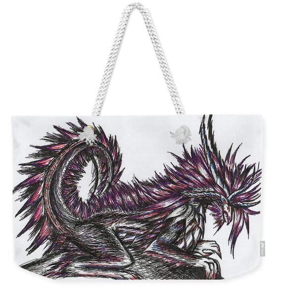 Atma Weapon Catoblepas Fusion Weekender Tote Bag