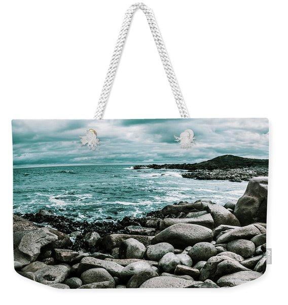 Atmosphere In A Looming Sea Storm Weekender Tote Bag