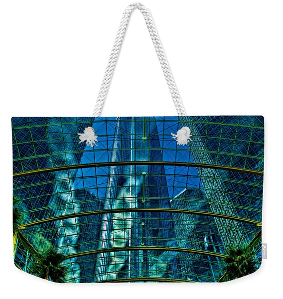 Atrium Gm Building Detroit Weekender Tote Bag