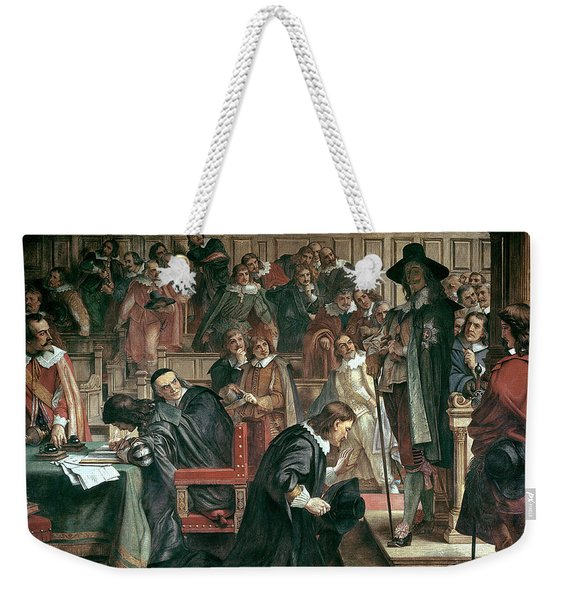 Attempted Arrest Of 5 Members Of The House Of Commons By Charles I Weekender Tote Bag
