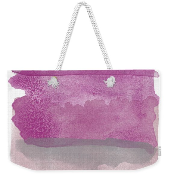 Aubergine Wash- Art By Linda Woods Weekender Tote Bag
