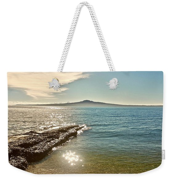 Auckland Harbour On A Winter's Afternoon Weekender Tote Bag