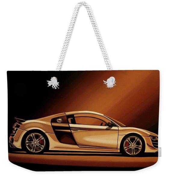 Audi R8 2007 Painting Weekender Tote Bag