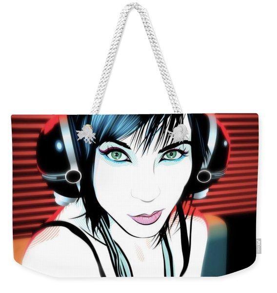 Audiophile Weekender Tote Bag